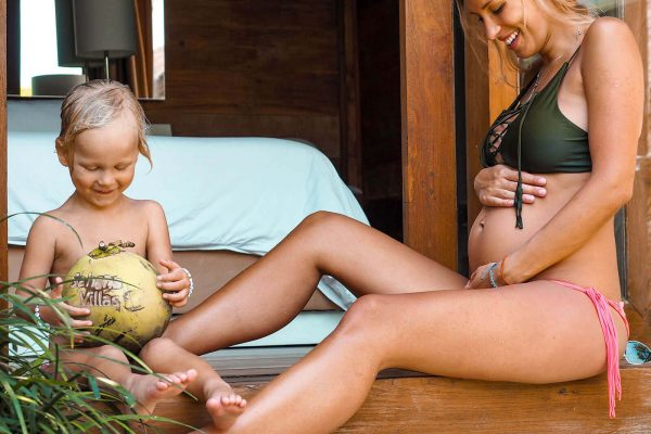 Luxury Private Villa to Rent for your family holidays in Bali, Sahana Villas Seminyak family with young kids