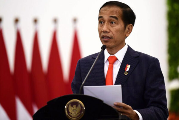 President of Indonesia virus